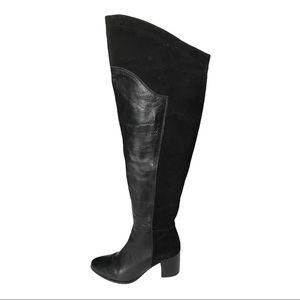 Catherine Malandrino Black Over the Knee Boots